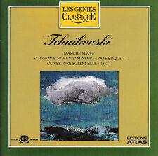 """CD-Tchaïkovski Marche Slave Symphonie N°6 En Si Mineur, """"Pathétique"""" Ouverture S"""
