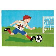 """ARTE ESPINA Teppich Handtuft """"4090-53 Joy Fußball Soccer Kids"""" 110x160 cm NEU"""