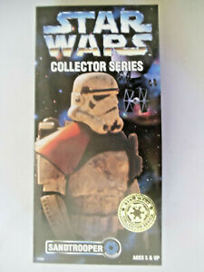"""Sand Trooper 12"""" MOC Star Wars Collector Series Imperial Desert Soldier Empire"""