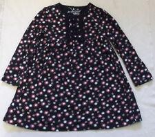 Jumping Beans Girl's Black-flowered LS Dress EUC Size 3T