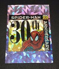 1993 Spiderman 30th Anniversary Prism Insert Card P8 Stan The Man