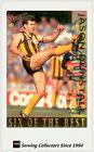 1995 Select AFL SIX OF THE BEST Trading Card SOB1-Jason Dunstall ( Hawks)