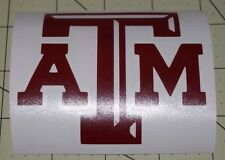 Texas A&M Decal for your Yeti Rambler Tumbler, Colster