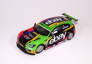 Scalextric (C3694A) BMW 125i M Sport - BTCC Champion 2014, limited Slotcar 1:32