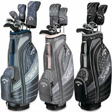 Callaway Womens Solaire Ladies Complete Golf Club set 8 piece Full set w/ Bag