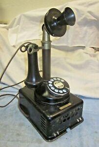 Working Kellogg Candlestick Telephone e/w Subset.