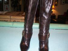 Women's Nine West Brown Boots- Size 9M- EUC!!!