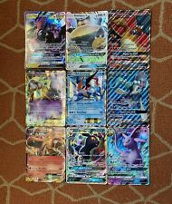 9 Assorted Pokémon Jumbo GX/EX Oversized Cards