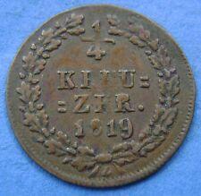 Deutsches Reich Germany  1/4 kreuzer 1819 Nassau