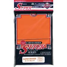 KMC SUPER SERIES SUPER ORANGE MTG - POKEMON STD 80 SLEEVES