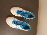 Asics Gel Upcourt White Blue Eur 37