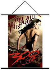 300 Queen Gorgo Wall Scroll NEW Movie Poster Hanging Collectibles