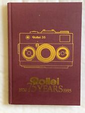 Rollei ( Rollei 35 ), 75 Years, 1920-1995, German Language, Hardback Book