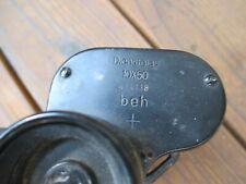 WW2 German Binoculars (Dientsglas), 10x50mm - Maker - beh (Leitz Wetzlar)