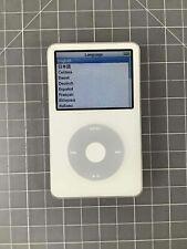 Apple iPod 5th Gen A1136 (30Gb) White