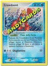 CRAWDAUNT 3/97 - RARA HOLO FOIL - DRAGO - ITALIANA - POKEMON ANDYCARDS