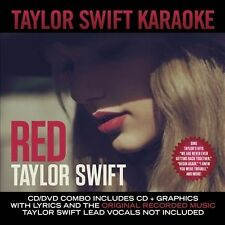 TAYLOR SWIFT CD - RED: KARAOKE[CD/DVD](2013) - NEW UNOPENED - COUNTRY