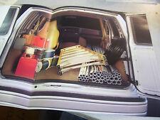 Rare 1986 Chevy Trucks Astro Van Brochure
