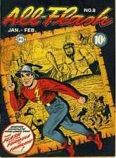 ALL FLASH COMICS #8 © 1943 DC Comics