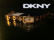 DKNY LADIES LUXURY ROSE GOLD TONE CRYSTALS WATCH NY9148