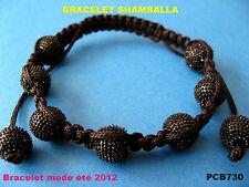 BRACELET STYLE SHAMBALLA  BLACK  EDITION / SHAMBALLA BRACELET BRESILIEN / DISCO