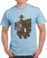 Good Bad Ugly Blondie Cool Clint Eastwood Western Movie Fan T Shirt