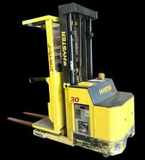 Hyster R30xms 24v Electric Order Picker Forklift 213 Height 3000 Lb Capacity