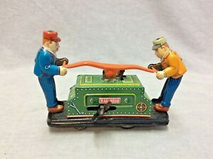 Schylling Collector Series Wind-Up Railroad Hand Car Tin Toy