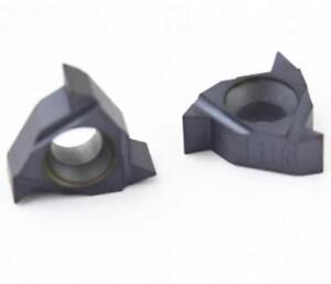 10 pcs 11 ER A 60 LDA Carbide Threading Inserts Cutting Tool For CNC Lathe