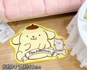 Pom Pom Purin fuzzly Floor Mat  Carpets Bedroom Rug mats rugs fashion