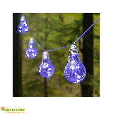 catena 10 lampadine micro led blu luci natale luminarie esterno interno