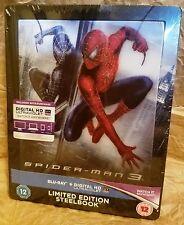 SPIDER-MAN 3 (2007) BluRay UK Exclusive Limited Ed. STEELBOOK Lenticular Magnet