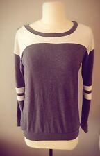 Freeloader Long Sleeve Shirt Womens Small Gray & Blue