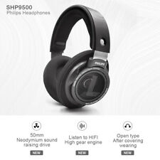 Philips SHP9500 HiFi Precision Stereo Over-ear Headphones (Black) new in box