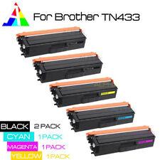 5PK SET TN433 2BK 3CYM toner cartridge For Brother HLL8260CDW/8360CDWT TN-431