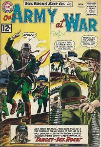 Our Army At War 124 FN 6.0 - WashTone cover - JOE KUBERT