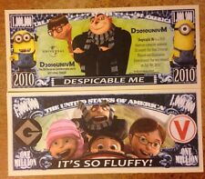 Dispicable Me Million Dollar Bill ( Minions )