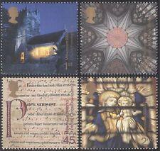 GB 2000 Millennium/Church/Madonna/Stained Glass/Art/Music/Drama 4v set (n29735)
