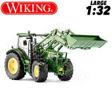 Wiking 077344 John Deere 6125 Tractor & Fr Loader 1:32 Collectors DieCast Model