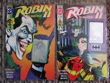 DC Comics Robin 2 #1-2 The Joker's Wild - Very High Grade Batman - 1991