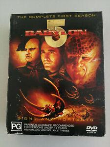 Babylon 5 The Complete First Season - 6 disc set VGC
