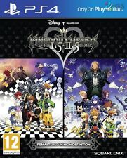 Kingdom Hearts HD I.5 + II.5 REMIX PS4 1.5 2.5 * NUOVO SIGILLATO PAL *