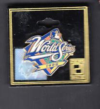 1998 MLB World Series Logo 1 inch Collectors Pin