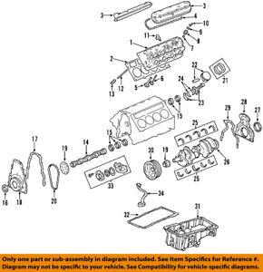 GM 12589016 Seal, Camshaft/Engine Camshaft Seal