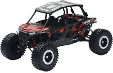 New Ray Juguetes Polaris Rzr 4 Turbo XP 1:18 Rock Crawler Titanio Rojo 57976B