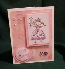 Happy Birthday Friend handmade greeting card and envelope Stampin' Up!
