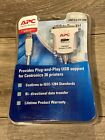 APC USB to PARALLEL Printer Adaptor Cable 6'/1.8m NEW