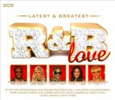 Latest & Greatest: R&B Love [Box] by Various Artists (CD, Jan-2013, 3 Discs,...