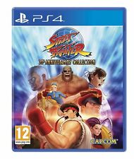 Street Fighter 30th Anniversary Collection-ps4 Playstation 4 Jeu-Neuf NEUF dans sa boîte