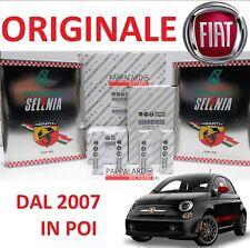 KIT TAGLIANDO FILTRI ORIGINALI + OLIO SELENIA + CANDELE FIAT 500 595 1.4 ABARTH